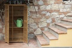 Armadio da esterno in legno Solido
