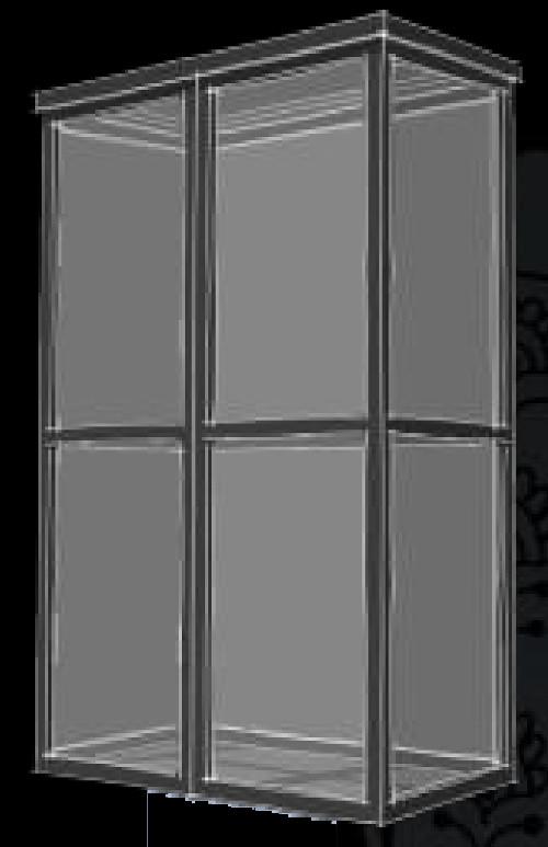Armadio in prospettiva ispirazione di design per la casa - Armadio in legno per esterno ...